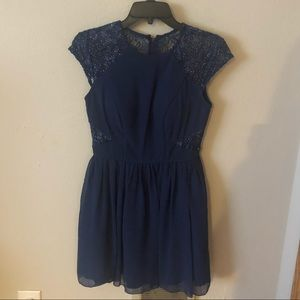 Navy Blue Homecoming Formal Dress!